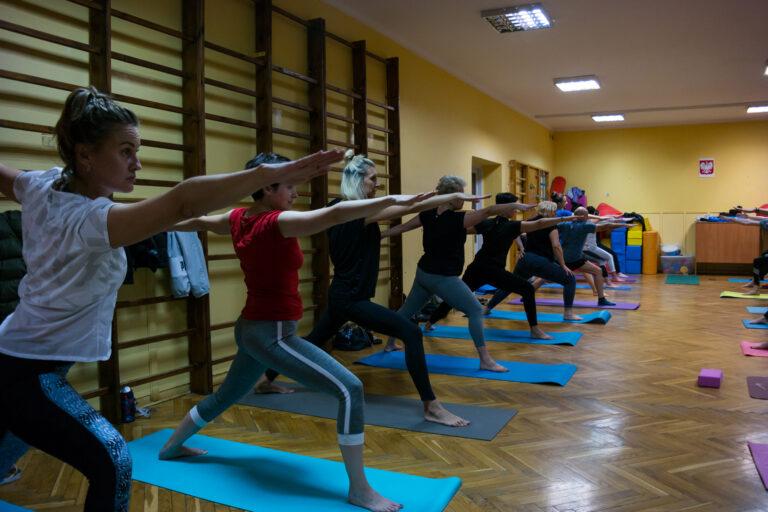 Wojownik II - Spartan Yoga - zajęcia grupowe